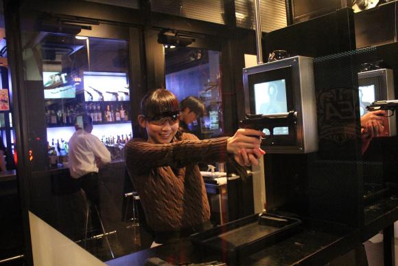 Food, hard liquor, and guns all on the menu at Tokyo's airsoft bar