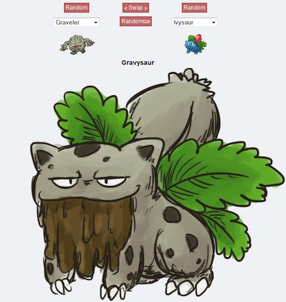 Watch out! Pokémon Fusion gets a lot more real with some wicked fan art【Photos】