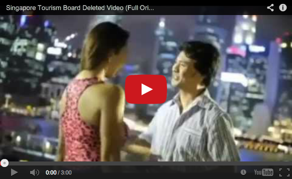 Watch the Singapore Tourism Board video that was so bad it was pulled from YouTube