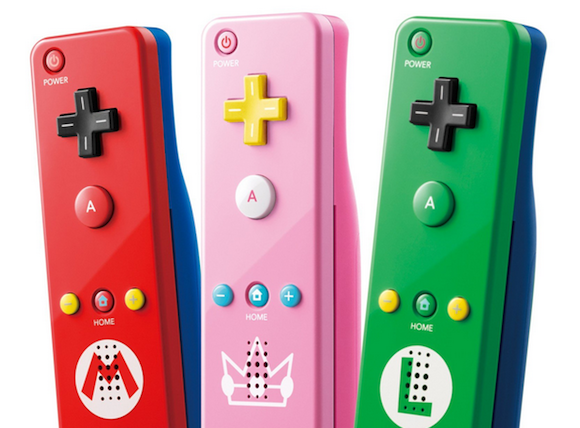 Princess Peach-themed Nintendo Wii remote available later this month