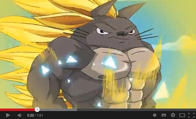 The Whimsy Bomb! College Humor splices Studio Ghibli movies with other popular anime series