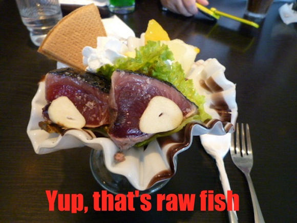 Raw fish, fermented soy beans, and Chinese food: Japan's 7 weirdest parfaits