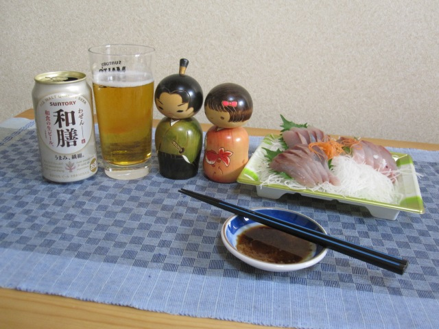 We try Wazen, Suntory's new beer specially designed to drink with Japanese food