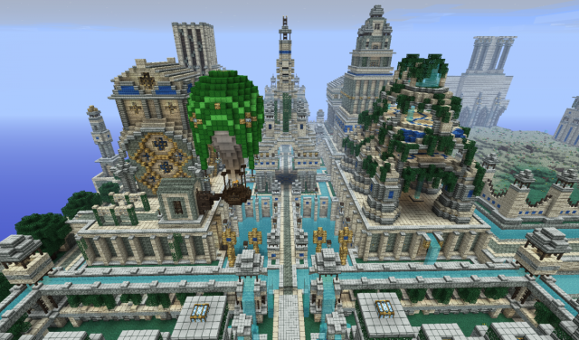12 amazing creations people have built in the game 'Minecraft'