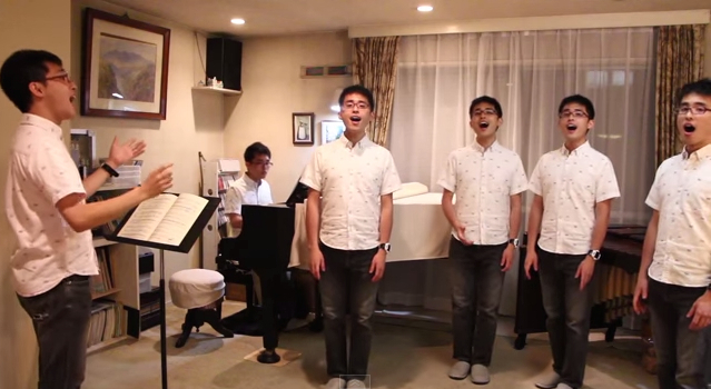 Attack of the clone choir: Stunning cover of Kiki's Delivery Service theme song 【Video】