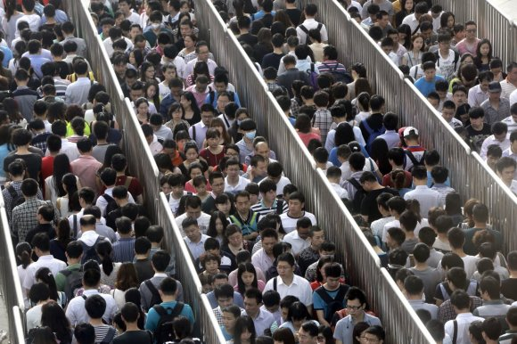 Beijing has started new 'anti-terror' checks on the subway, and the lines are like nothing you've ever seen