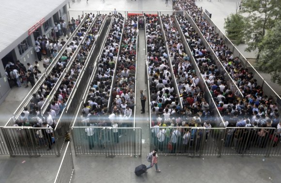 Beijing has started new 'anti-terror' checks on the subway, and the lines are like nothing you've ever seen3