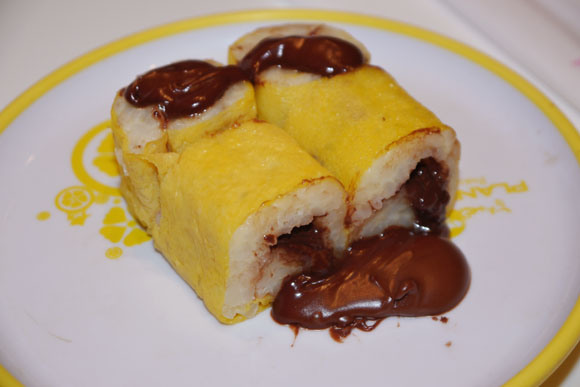 We head to France to try Nutella sushi