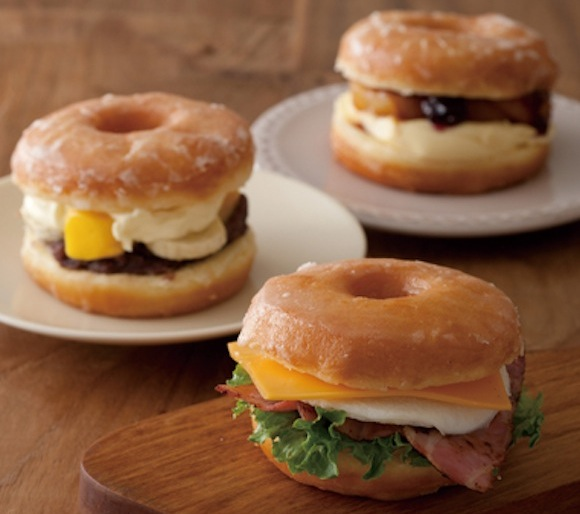 Doughnuts meet sandwiches — with both sweet and salty results! 【Taste Test】