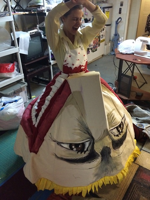 Fan Makes Brutal Attack on Titan Cosplay Gown of Eren's Mom