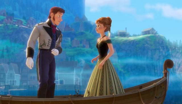 Frozen fan gets hot under collar when husband asks what the big deal is, asks for divorce