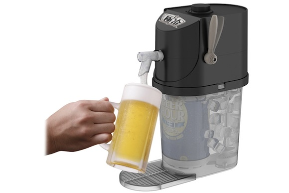 "Enjoy the perfect glass of beer anytime, anywhere with the ""Premium Beer Server GOKUREI""!"
