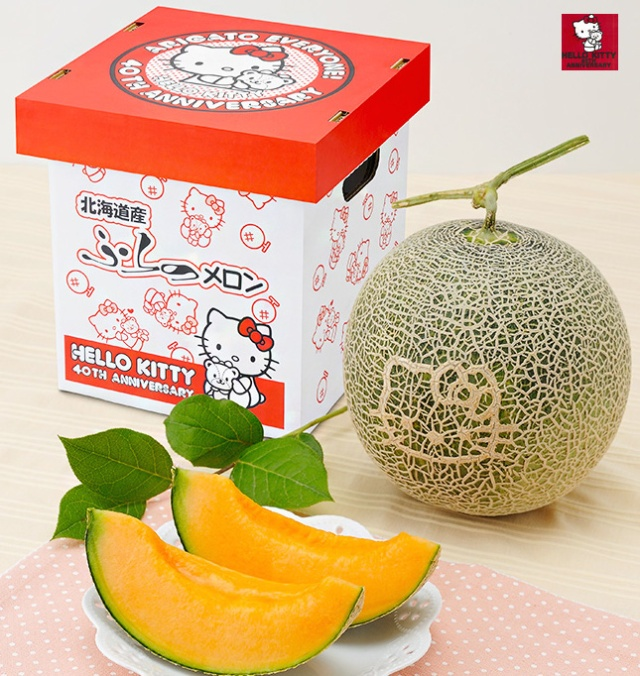Hello Kitty melons are back in Japan for the same high price
