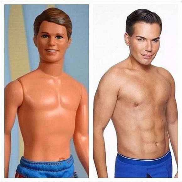 "Here comes a new challenger: Will Brazilian ""human Ken doll"" ascend to the doll people throne?"