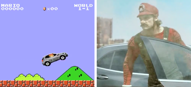 Super Mercedes Brothers! Mario teams up with Benz for new ad, game content 【Video】