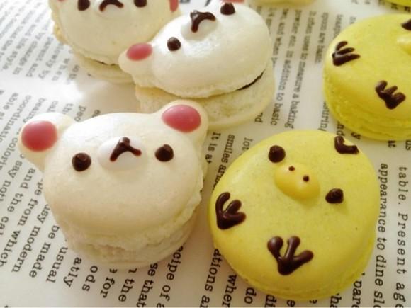 Super cute Rilakkuma, Totoro and cat macarons! Can you bear to bite into them? 【Pics & Video】