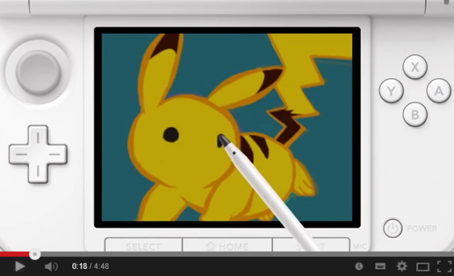 Gotta draw 'em all! New 3DS game teaches players how to draw over 100 different Pokémon