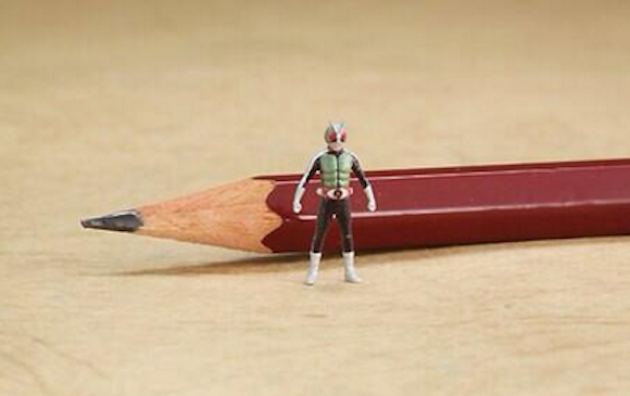 The tiniest, most detailed Kamen Rider you have ever seen!