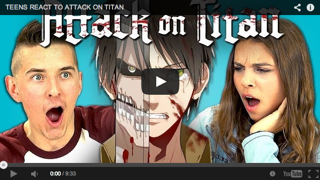 American teens share their reactions to Attack on Titan