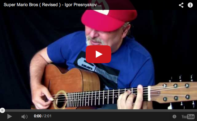 This is probably the best acoustic Super Mario Bros. cover ever 【Video】