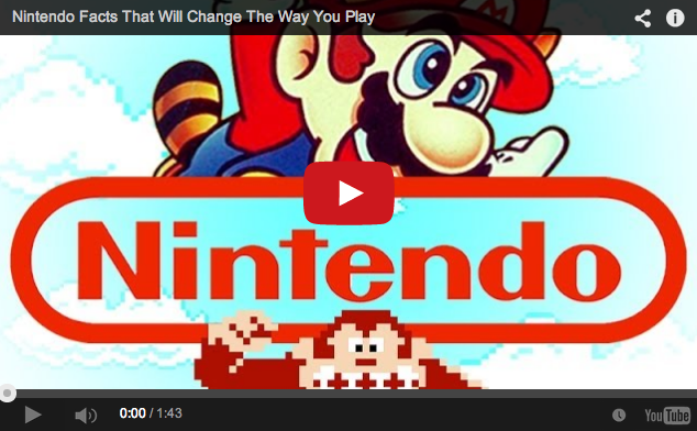 Test your nerdy knowledge with these Nintendo facts