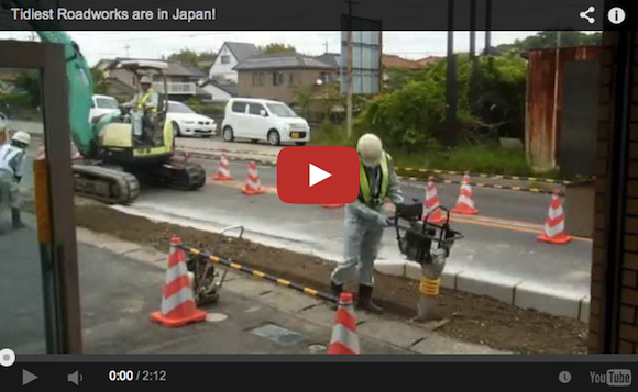 Roadworks video hints at why everything runs so smoothly in Japan