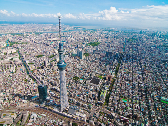Tokyo Skytree's disappointing attendance: 6.19 million visitors