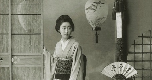 Hotties from history: the geisha of Japan's first beauty pageant【Photos】