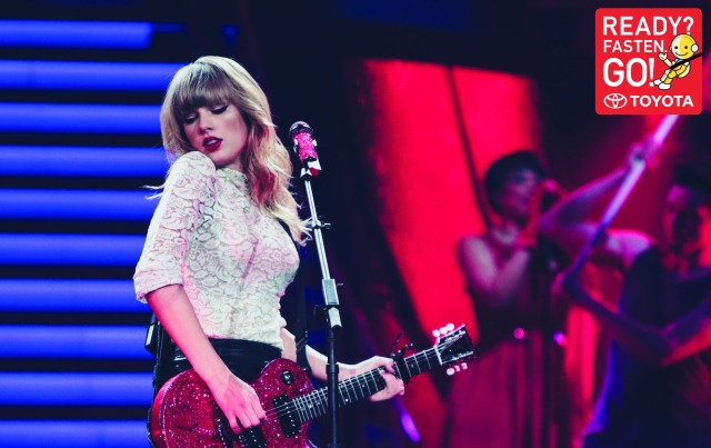 Traffic accidents kill over 300,000 per year in SE Asia, Toyota calls in Taylor Swift to help