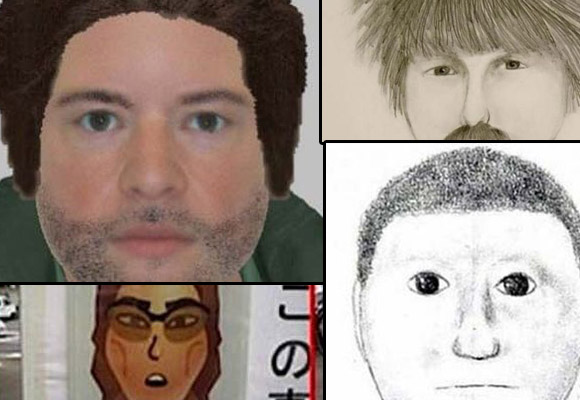 Have you seen these people? The world's worst police sketches