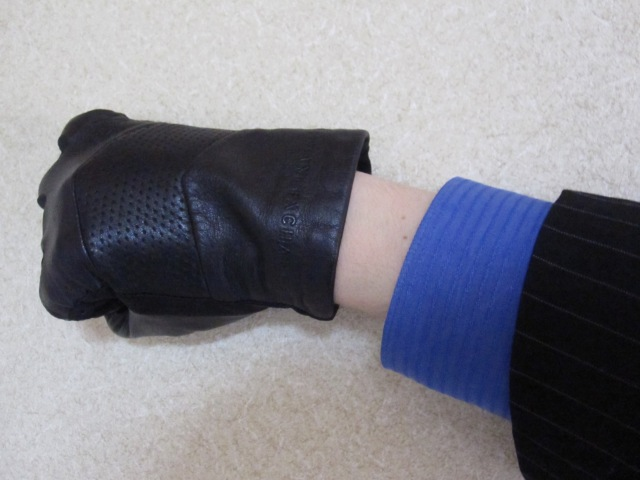 A man's wrist – Japan's male version of a strip of exposed thigh?