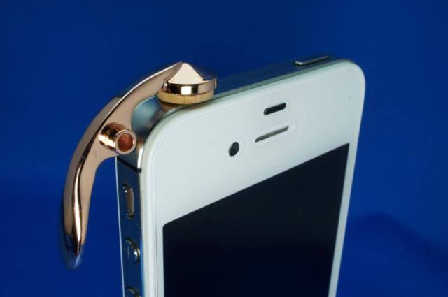 Brass section rejoice! Your ideal smartphone accessory has arrived