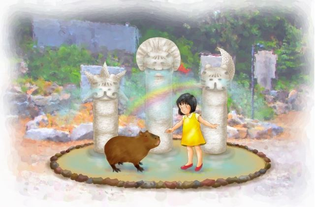 Park's new water attraction is a dream come true for capybara lovers