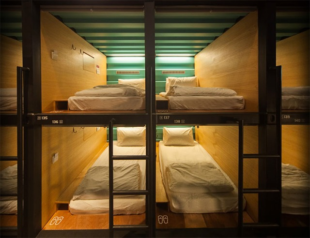A brand new capsule hotel just opened…in Malaysia
