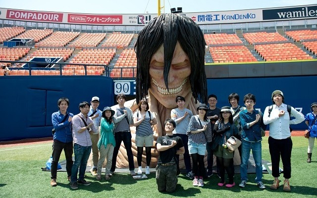 Attack on Titan real escape game heads to Saitama