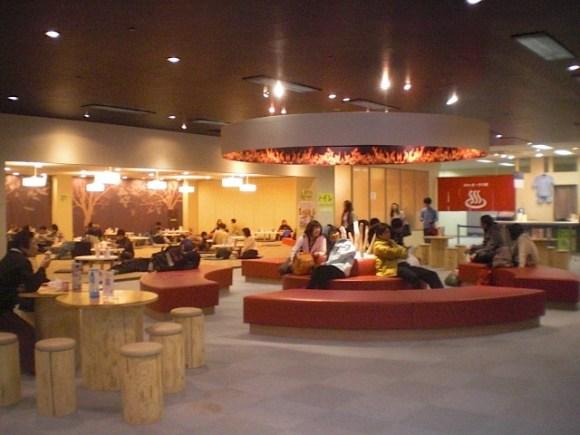 Irori Lounge, Gala Yuzawa Station, Ski Resort, Cowabunga, Niigata