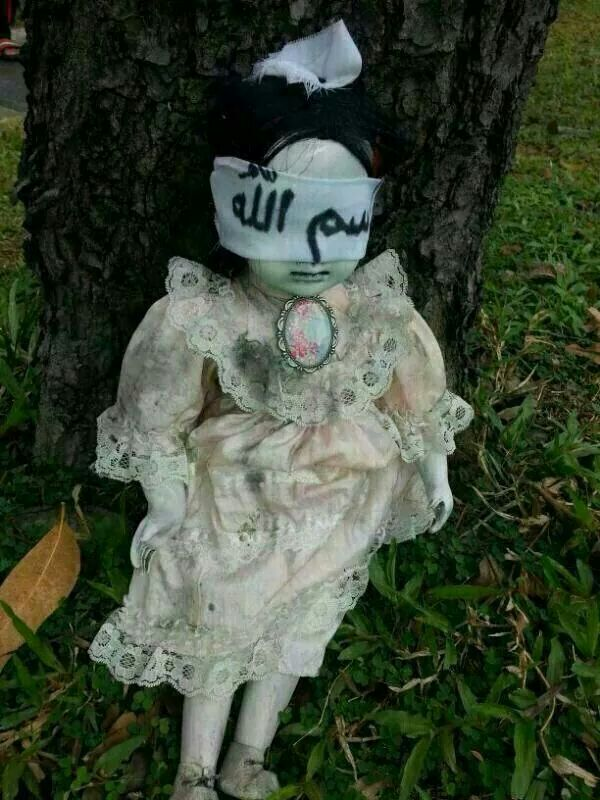 Is there any explanation for this creepy doll someone found in Singapore?