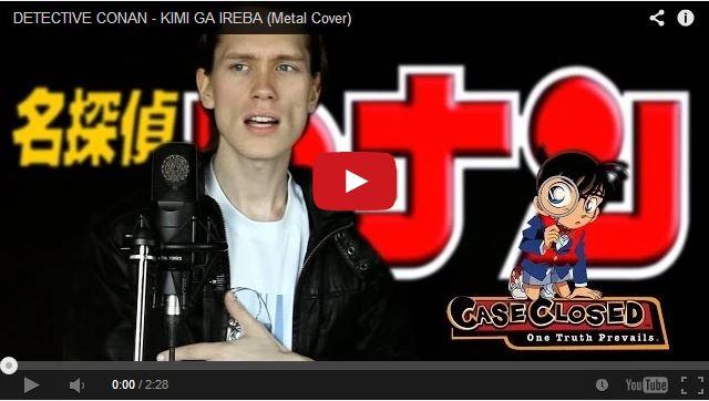 Norwegian metal singer covers Japanese pop songs galore
