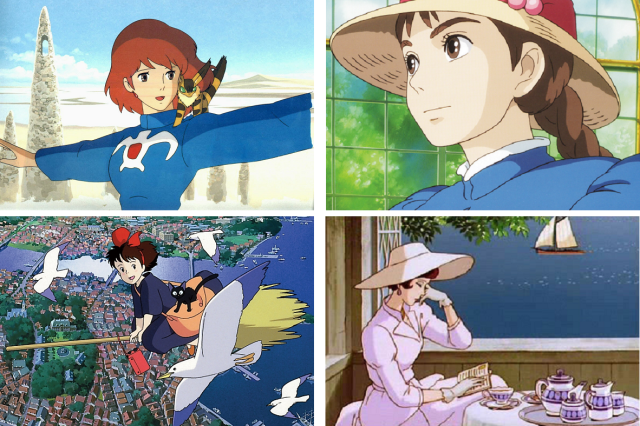 Anime fans pick which Ghibli heroine they'd like to have as a girlfriend