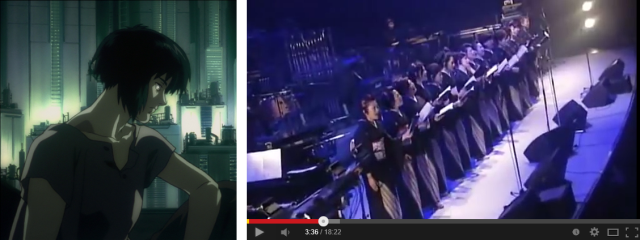 A hauntingly beautiful live performance of Ghost in the Shell anime music 【Video】