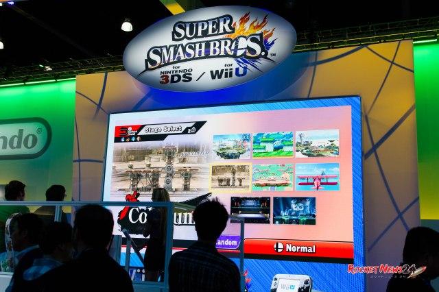 We play Super Smash Bros. for Wii U【RN24@E3】