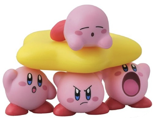 The next must-have item for game fans: Adorable stackable Kirbys!