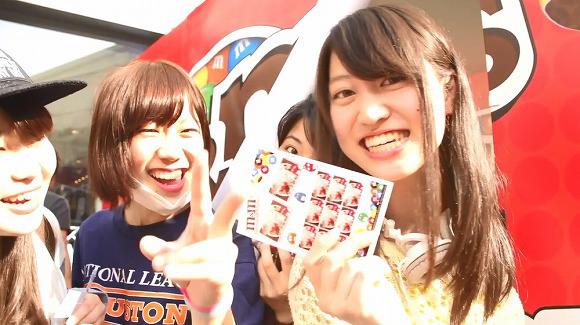 M&M's Japan Friends Maker purikura event, Tokyo and Osaka