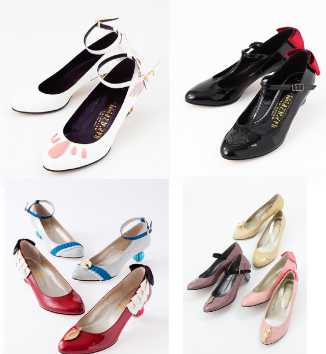 With Madoka Magica high heels, the choice between good and evil is always a fashionable one