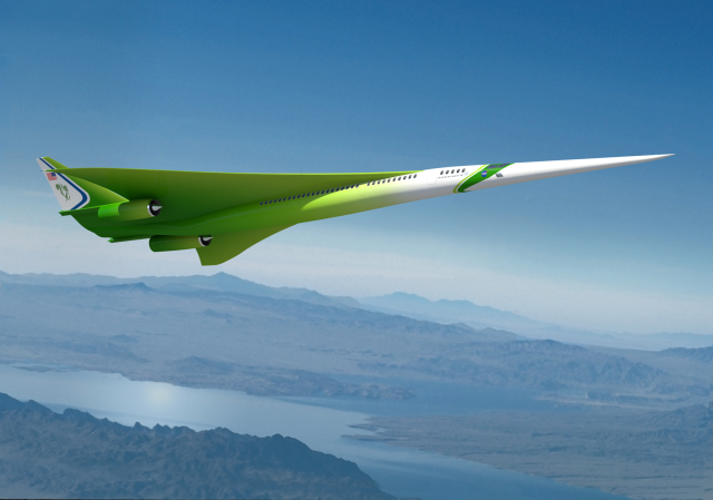 NASA's new leek-like supersonic jet design would be perfect for Hatsune Miku's personal plane