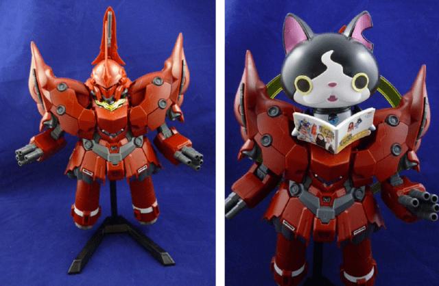 Overhauling your Gundam model for maximum cuteness