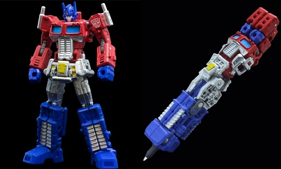 TRANSFORM! And write while you're at it, too — with these cool shape-shifting Transformers pens!