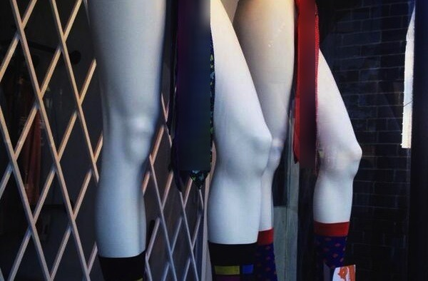 There's something not quite right about these mannequins…