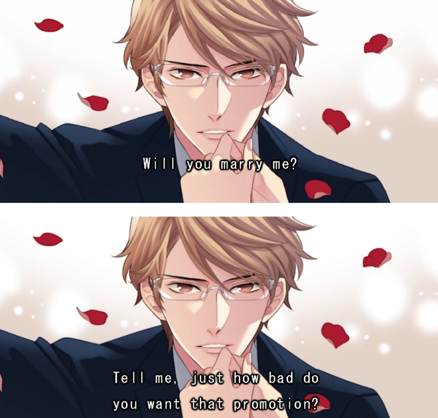 Awesome anime marriage proposal simulator lets you create romantic scenes, dark comedy