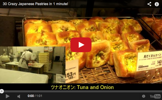Video proves how much Japan loves its pastries